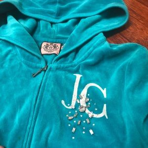 Juicy Couture Jackets & Coats - Juicy Couture Velour Track Jacket